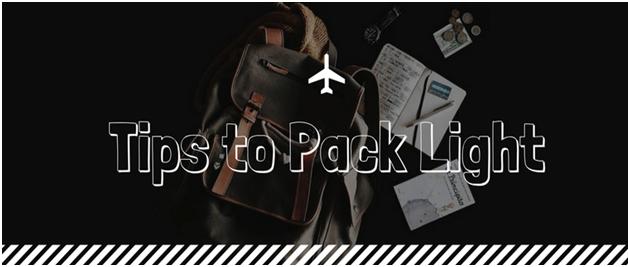 Pack Light, travel light (2017 update) 1